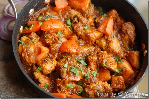 Chicken tomato roast