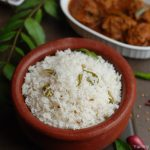 Malabar Coconut Rice / Thenga Choru – With Video