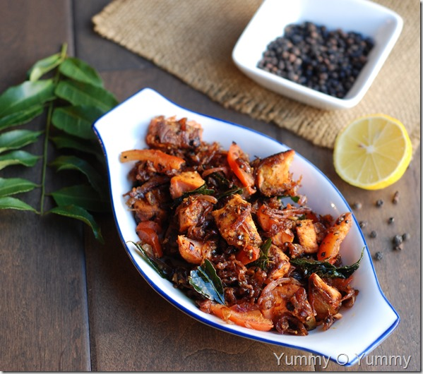Nadan fish pepper fry
