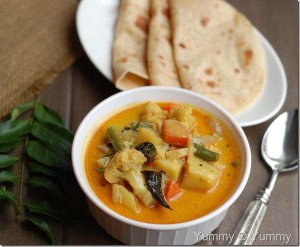 Nadan vegetable curry
