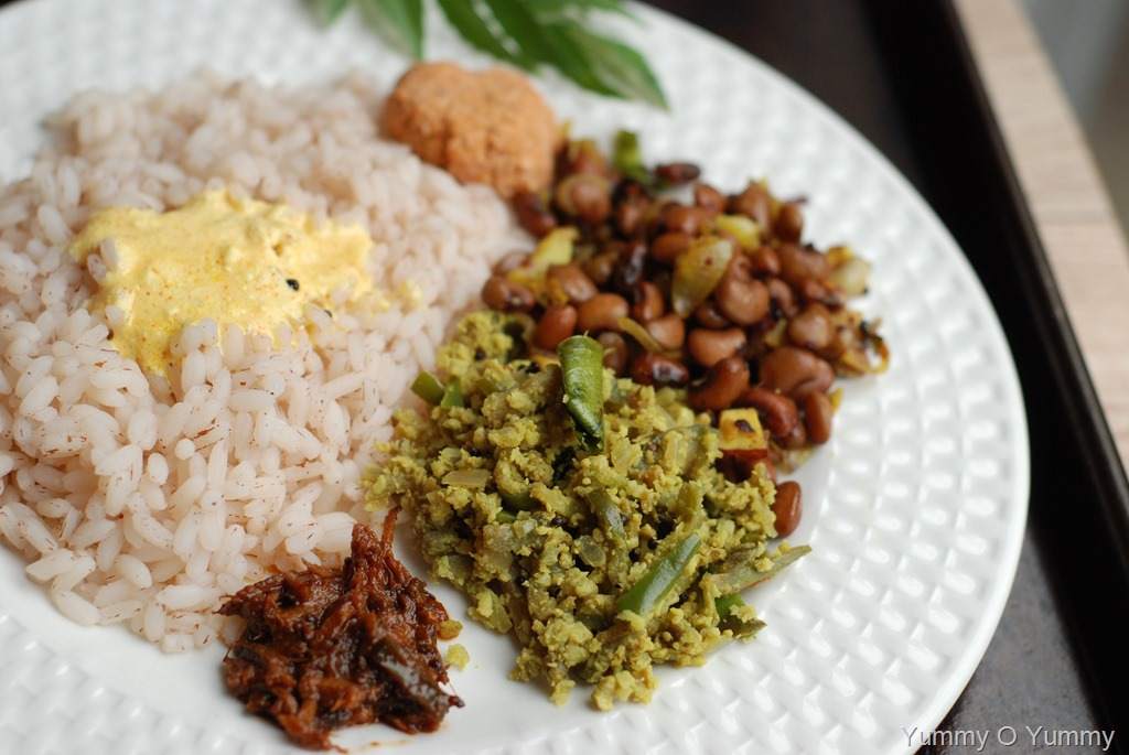 Vazhuthananga / Brinjal Egg Thoran