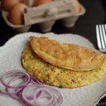 Chicken Omelet – Kerala Style