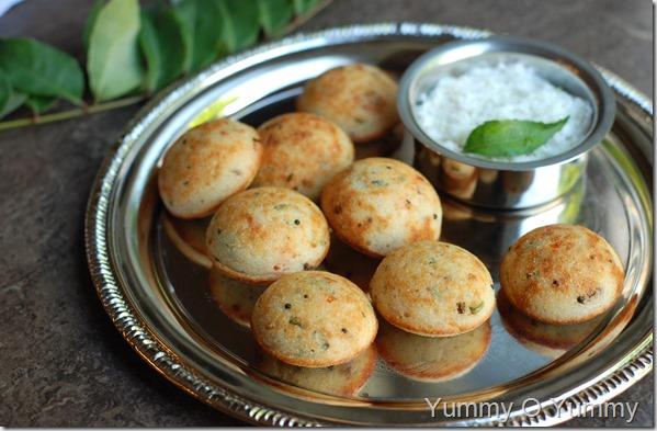 Rava kara kuzhi paniyaram