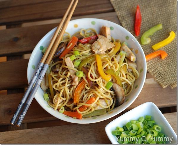 Chicken chow mein1