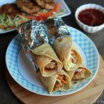 Chicken Patty Wraps