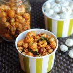 Spicy Roasted Phool Makhana (Foxnuts / popped lotus seeds)