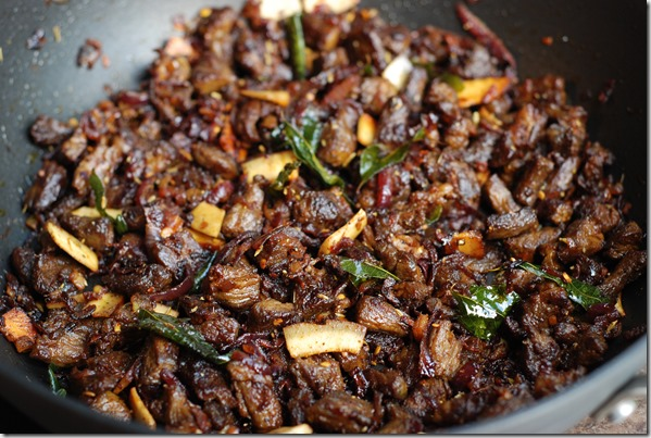 Easy beef dry fry - Kerala Style