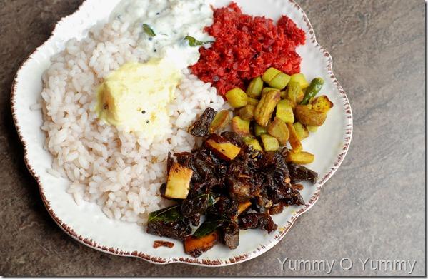 Beef fry - Kerala style