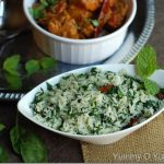 Palak Rice / Spinach Rice