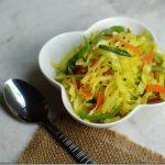 Gujarati Cabbage Sambharo