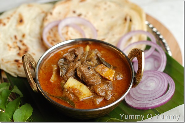 Thani nadan beef curry