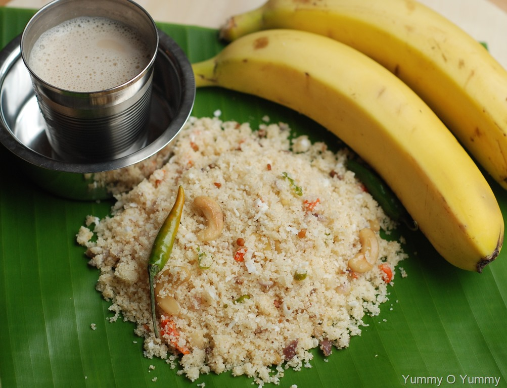 Cake Recipes In Kerala Style: Kerala Upma (Fluffy Kerala Style Upma Recipe