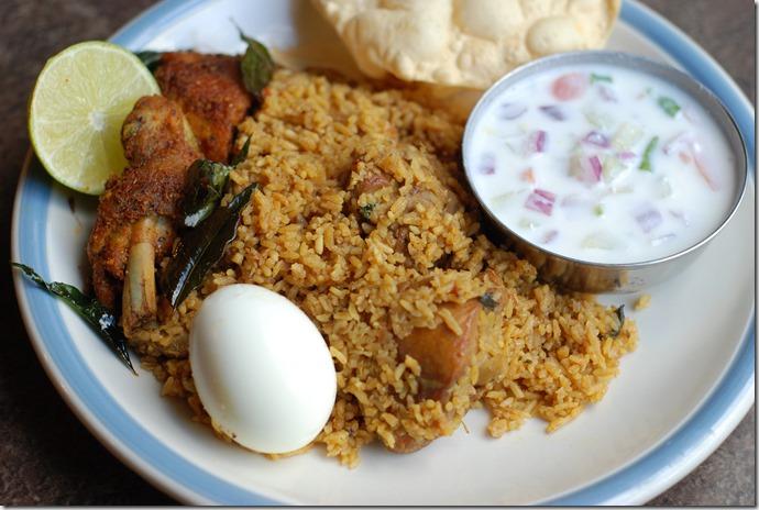 Tamil Nadu Chicken Biriyani