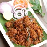 Chicken Coconut Ularthiyathu / Chicken Coconut Roast