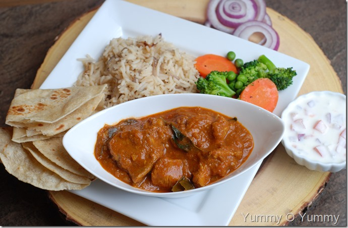 Tomato Chicken Curry