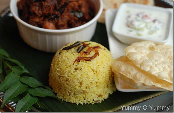 Malabar coconut rice