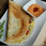 Egg Dosa / Mutta Dosa With Video