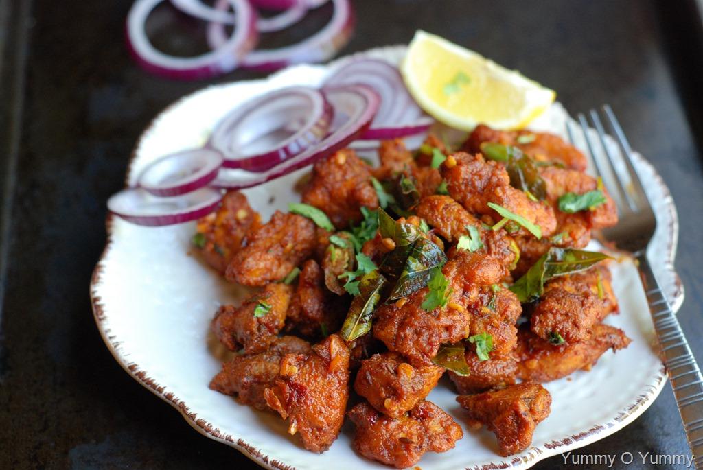 Chicken 65restaurant Style