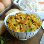 Aloo Anday / Egg and Potato Stir fry
