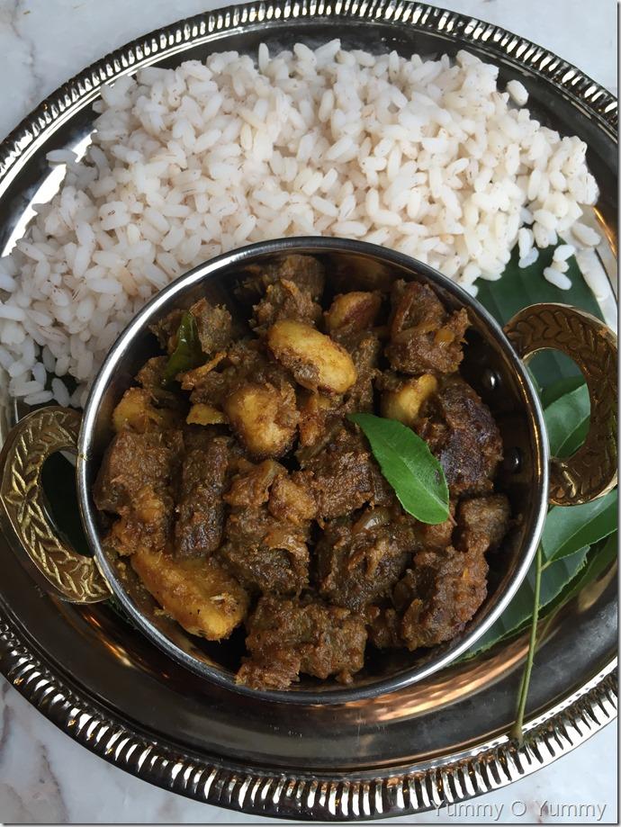 Beef um Kaya yum