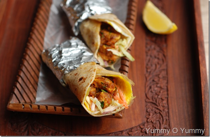 Chicken, Egg and Vegetable Roll