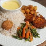 Carrot and Beans Mezhukkupuratti