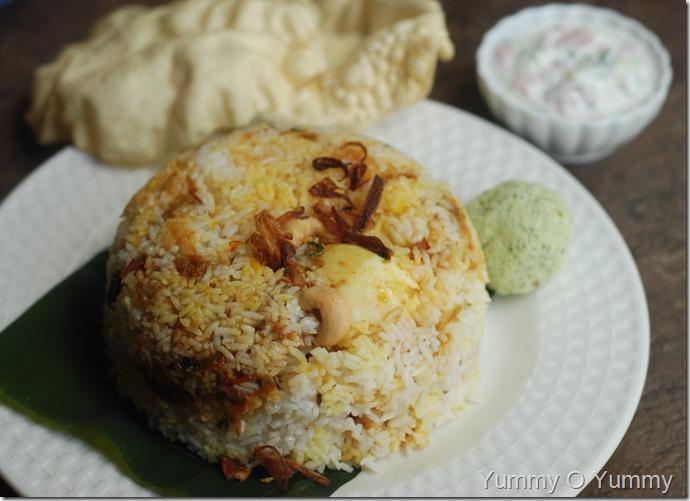 Malabar Egg Biriyani