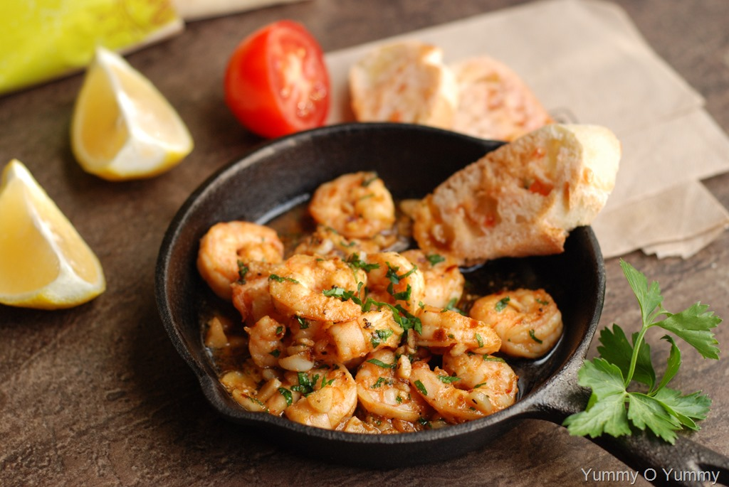 Spanish Garlic Shrimp Gambas Al Ajillo