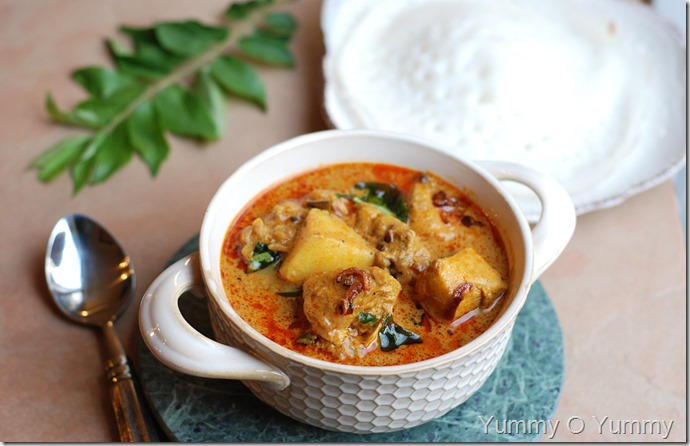 Kuttanadan Chicken Curry