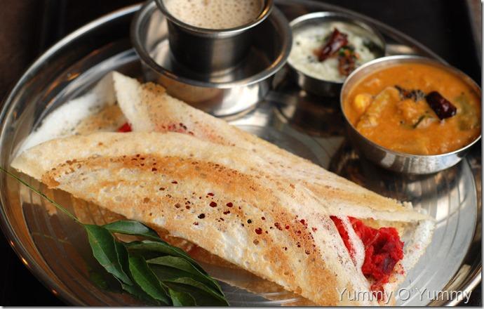 Masala Dosa - Indian Coffee House Style
