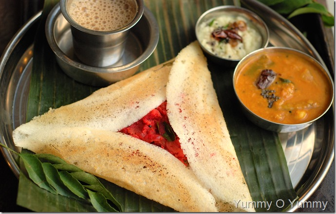 Masala Dosa - Indian Coffee House Style