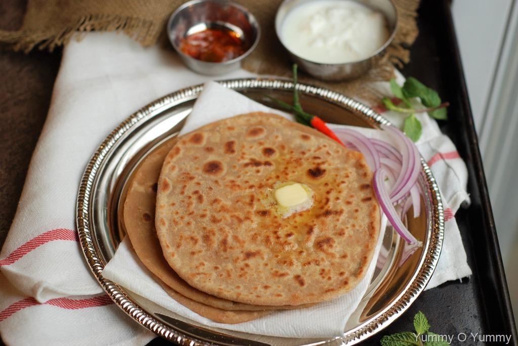 Gobi Paratha / Cauliflower Stuffed Paratha