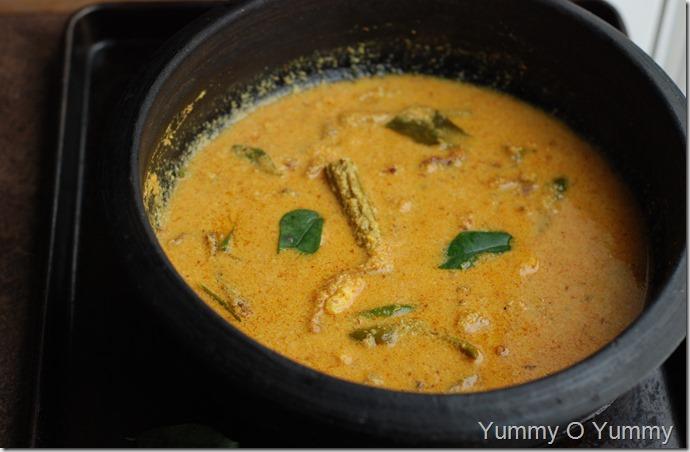 Unakka meen chakka kuru manga curry