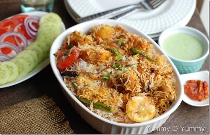 Karachi Chicken Biriyani