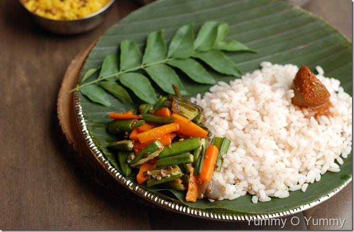 Vendakka Carrot Mezhukkupuratti
