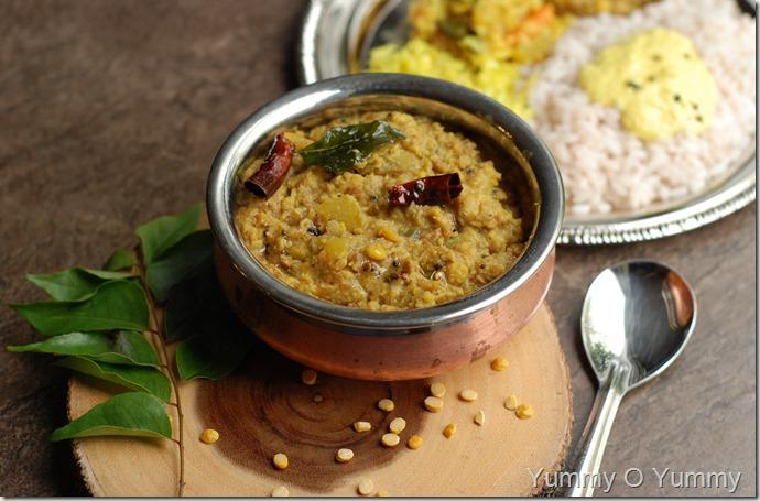 Trissur style koottu curry