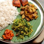 Spinach Egg Thoran / Cheera Mutta Thoran
