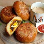 Bun Nirachathu / Malabar Stuffed Bun