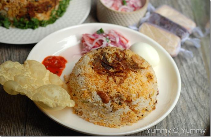 Manjali Style Beef Biriyani