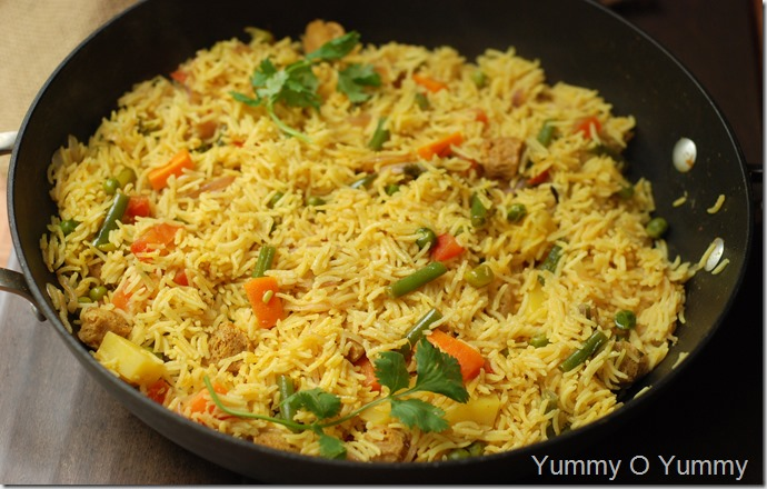 Vegetable Brinji Rice