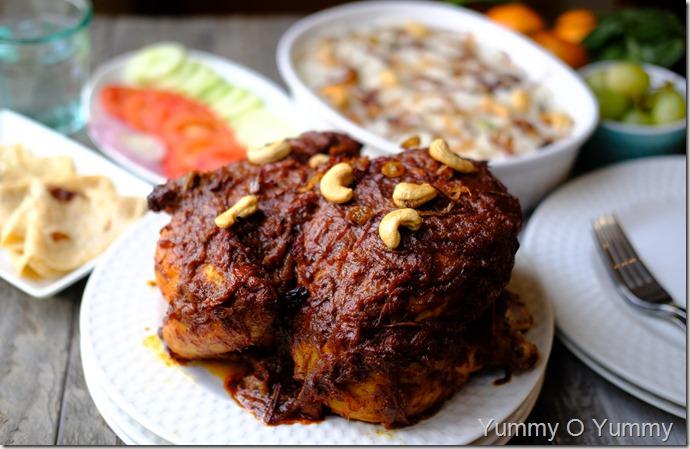 Malabar Style Stuffed Chicken