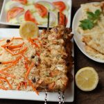 Afgani Chicken Kebabs