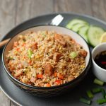 Thai Sausage and Egg Fried Rice