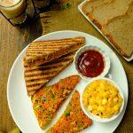 Iyengar Bakery Style Masala Toast