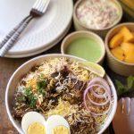 Hyderabadi Mutton Biriyani – Pakki Style